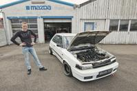 Mazda 323 1.8 V6 - Kloppend Hart