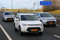 A-Team test Mitsubishi Outlander PHEV