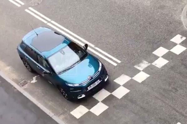 Gefacelifte Citroën C4 Cactus gesnapt