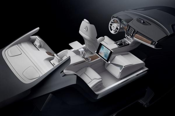 Volvo monteert Lounge Console in S90