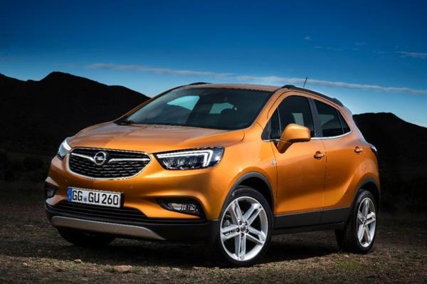 Opel Mokka X debuteert in Genève