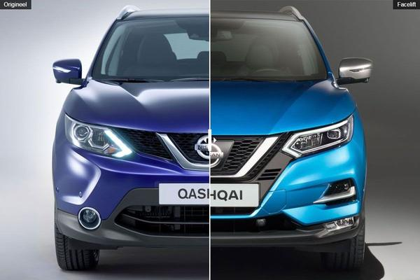 Facelift Friday: Nissan Qashqai (2017)