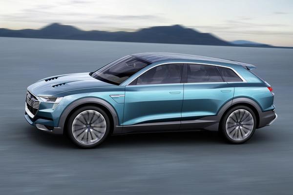 Audi noemt eerste EV simpelweg 'E-tron'