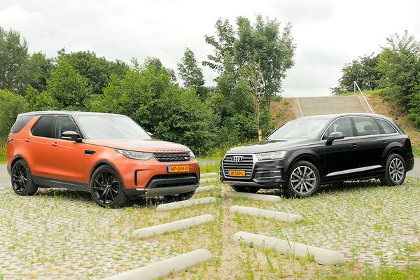Video: Audi Q7 vs. Land Rover Discovery - Dubbeltest