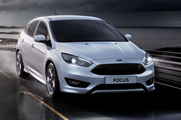 Ford Focus ST-line met 182 pk