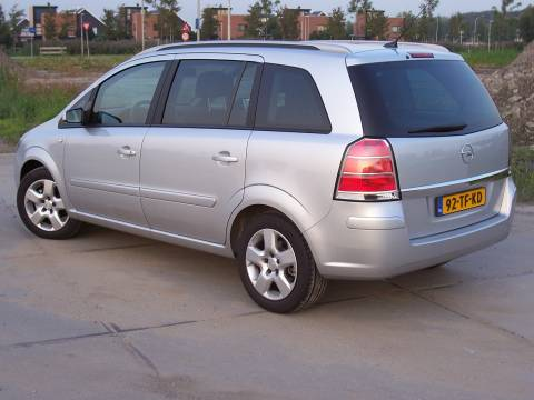 opel zafira 1 8 cosmo 2006 gebruikerservaring autoreviews. Black Bedroom Furniture Sets. Home Design Ideas