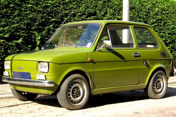 In het wild: Fiat 126