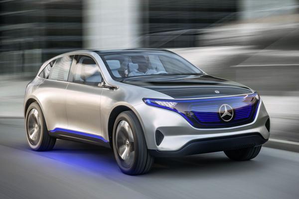 Elektrische cross-over Mercedes is officieel