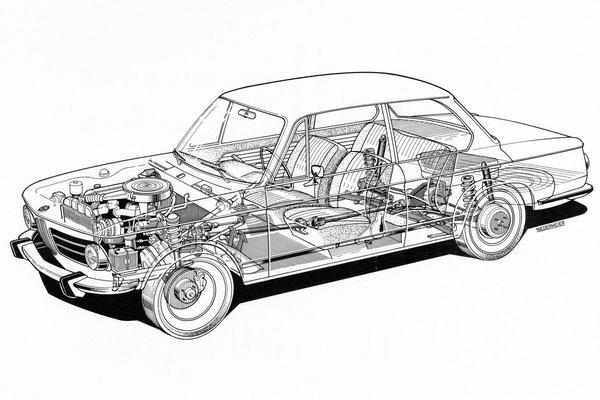Doorzaag-zaterdag: BMW 1600-2