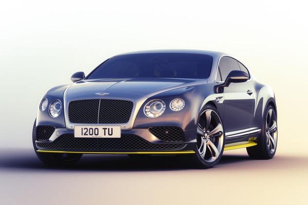 Bentley Continental GT Speed in gelimiteerde serie