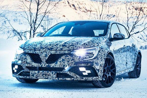 Renault bevestigt 4Control voor Mégane RS