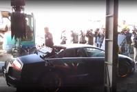 Lamborghini Murciélago gesloopt