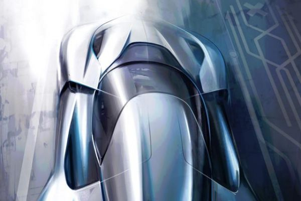 NextEV toont eerste schets hypercar