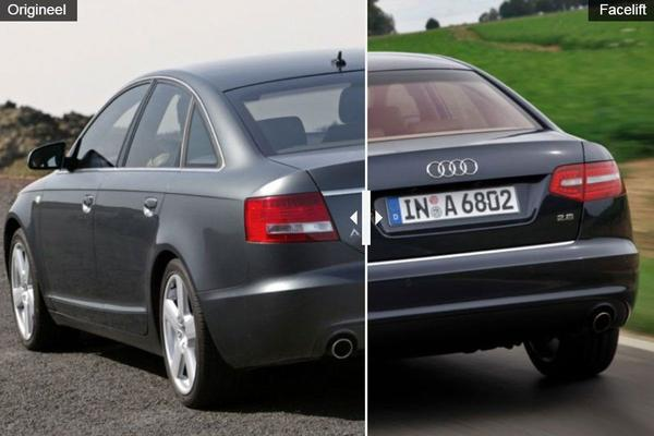 Facelift Friday: Audi A6