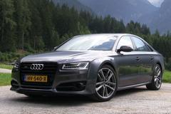 Audi S8 Plus - Grand Tour Zwitserland - Rij-impressie