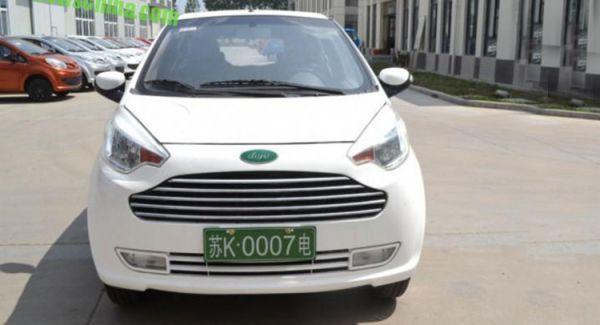 Chinese Dojo is Aston Martin Cygnet kopie