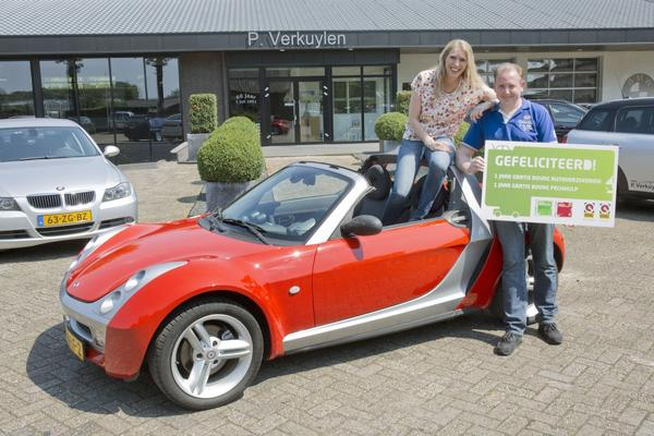 Video: Wie wint de Smart Roadster? - Vakantiekar