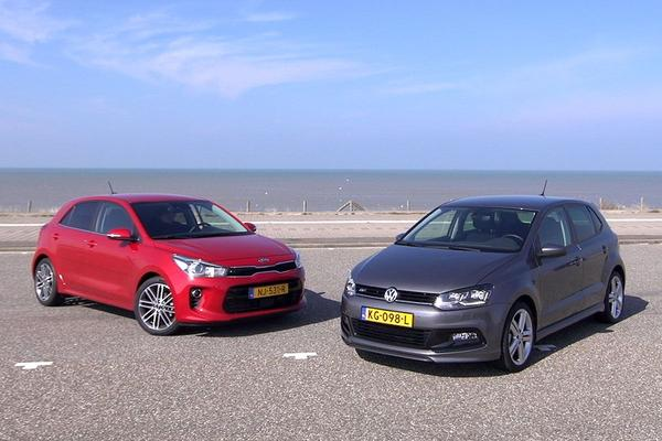 Video: Kia Rio vs. Volkswagen Polo - Dubbeltest