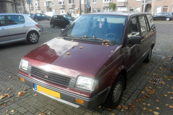 In het wild: Mitsubishi Space Wagon (1991)
