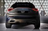 Infiniti QX30 Concept warmt op voor Gen�ve