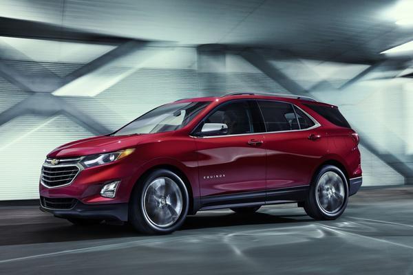 Chevrolet Equinox compleet in het nieuw