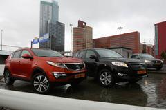 Kia Sportage 2.0 CVVT - Toyota RAV4 2.0 VVT-i -Volkswagen Tiguan 1.4 TSI 150pk