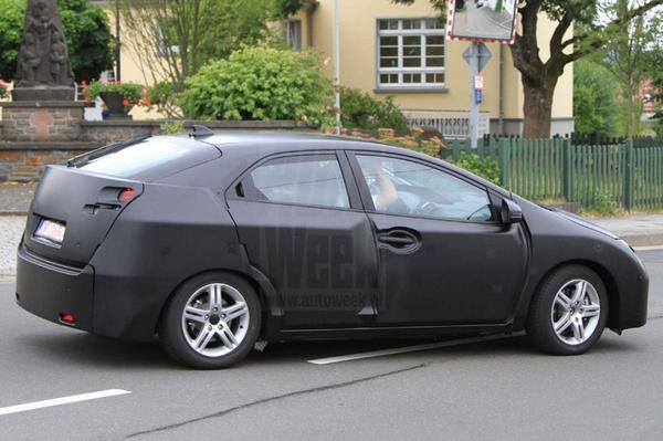 Honda Civic designstudie