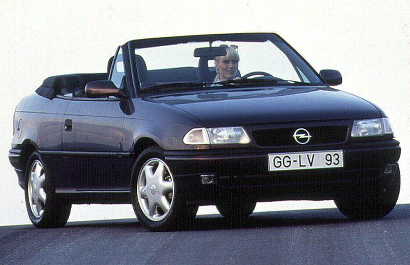 Stoffen Dak Voor Volgende Opel Astra Cabrio Autonieuws