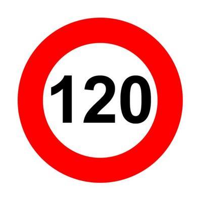 120 km bord