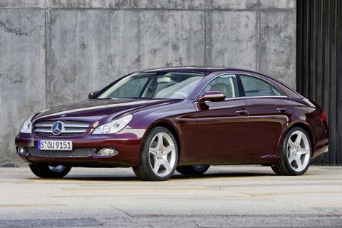 mercedes cls facelift高清图片