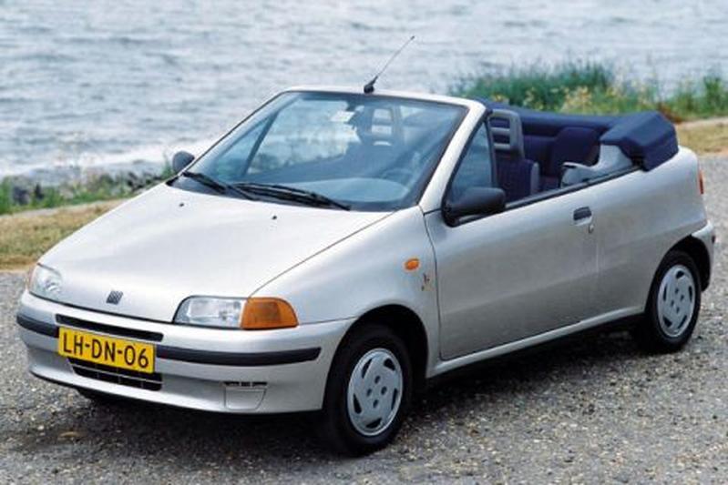fiat punto cabrio 60s 1996 autotests. Black Bedroom Furniture Sets. Home Design Ideas