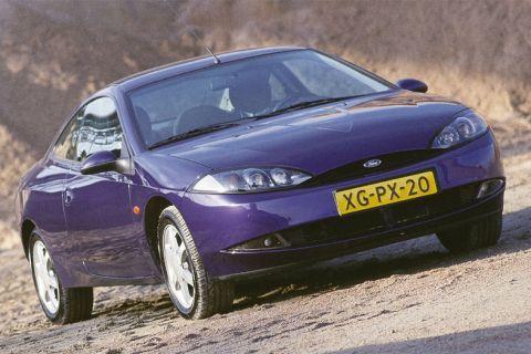 Autotest Ford Cougar 2.5 V6 24V - AutoWeek.nl