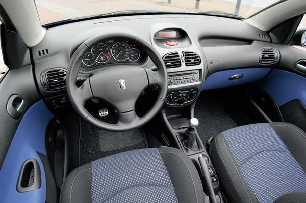 autotest peugeot 206 cc 1 6 16v. Black Bedroom Furniture Sets. Home Design Ideas