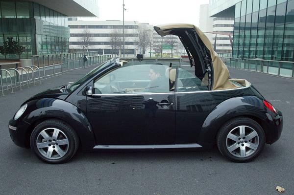 autotest volkswagen new beetle cabriolet 1 6 highline. Black Bedroom Furniture Sets. Home Design Ideas