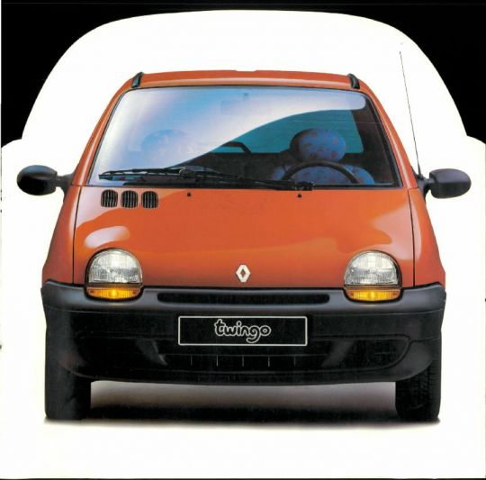 brochure renault twingo 1993. Black Bedroom Furniture Sets. Home Design Ideas