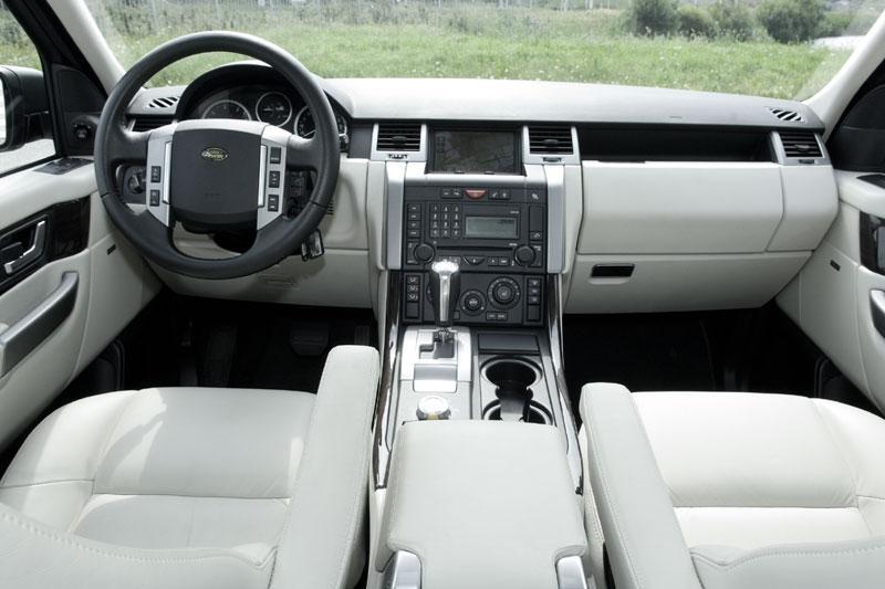 Land rover range rover sport tdv8 hse 2007 autotests for Interieur range rover