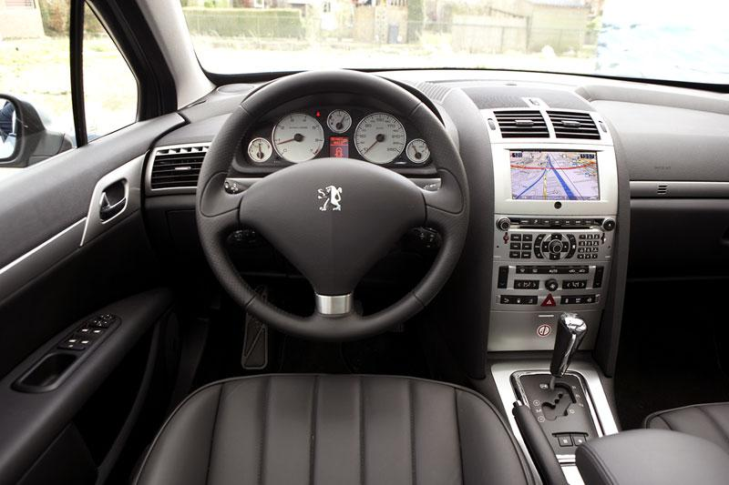 Peugeot 407 sw 3 0 f line 2007 autotests for Interieur 607