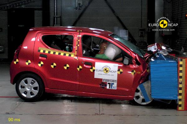 Suzuki Alto EuroNCAP