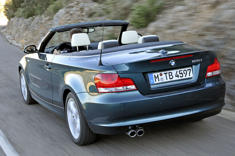 bmw 125i cabrio rijimpressies. Black Bedroom Furniture Sets. Home Design Ideas