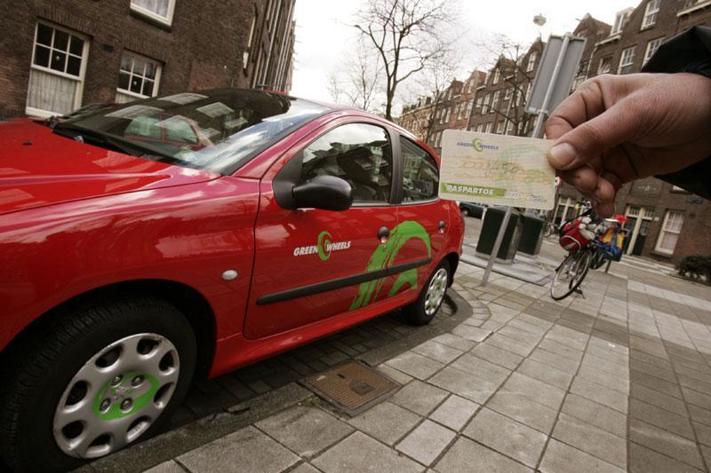 Vijfentwintig elektrische Greenwheels in Randstad ... Greenwheels