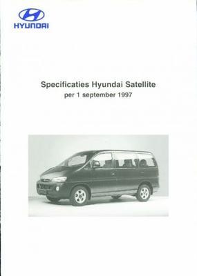 Hyundai Satellite Gl,gls,