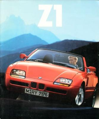 brochure bmw z1 1991. Black Bedroom Furniture Sets. Home Design Ideas
