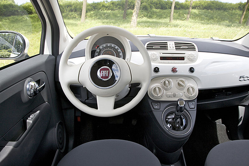 fiat 500 1 2 dualogic start stop pop 2009 autotests. Black Bedroom Furniture Sets. Home Design Ideas
