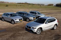BMW X1 - Audi Q5 - Volvo XC60 - Volkswagen Tiguan