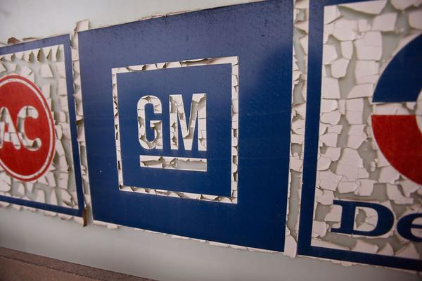 General Motors-logo | Foto: ANP/AFP