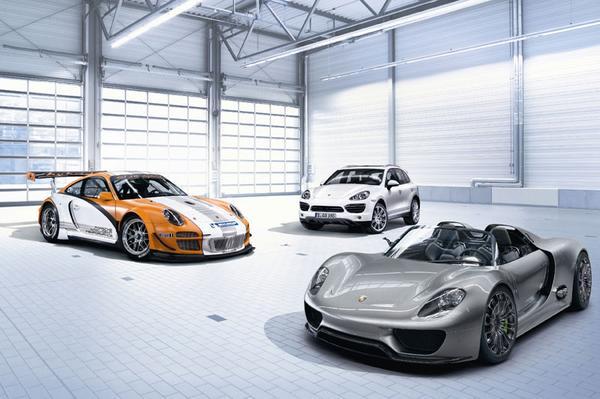 Porsche 918 Spyder Concept