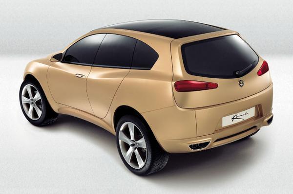 Alfa Romeo Kamal concept car - 2003