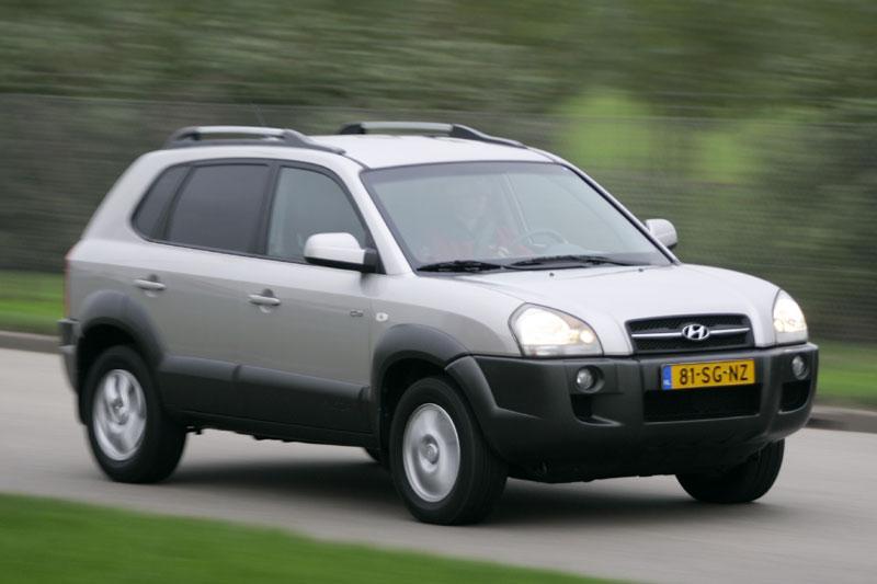 Hyundai Tucson 2.7i V6 StyleVersion (2006) | Autotests ...
