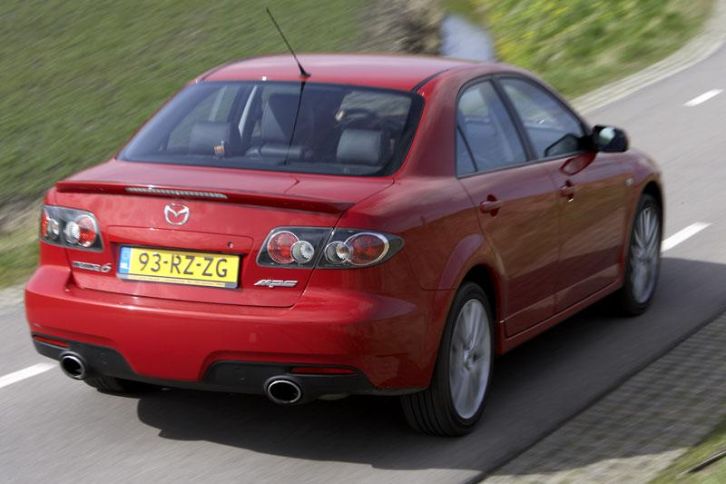 mazda 6 2 3 disi turbo mps 2006 autotests. Black Bedroom Furniture Sets. Home Design Ideas