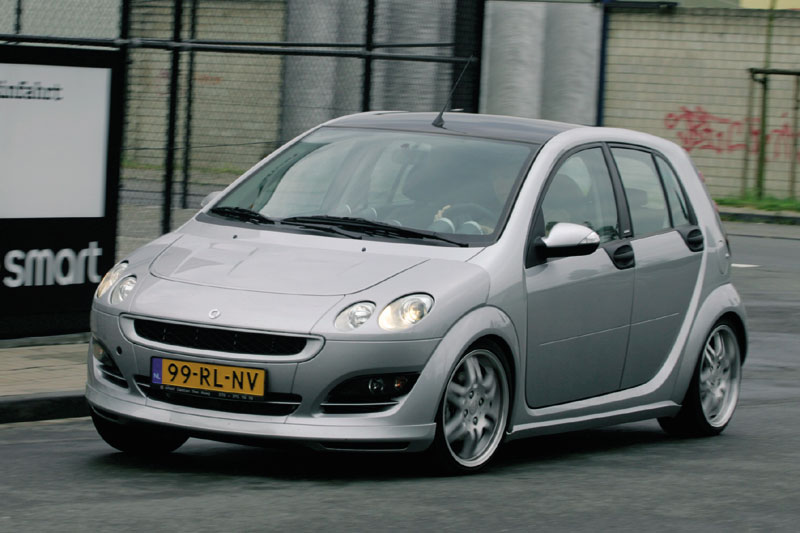 smart forfour 1 5 brabus 2005 autotests. Black Bedroom Furniture Sets. Home Design Ideas